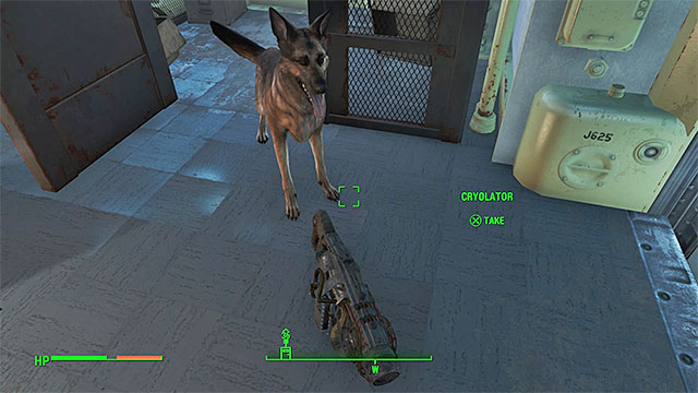 Dogmeat will bring you the weapon - How to unlock the legendary Cryolator weapon early in the game? - FAQ - Frequently asked questions - Fallout 4 Game Guide & Walkthrough