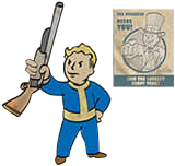Basher - Get up close and personal - Strength Perk - Perks - Fallout 4 Game Guide & Walkthrough