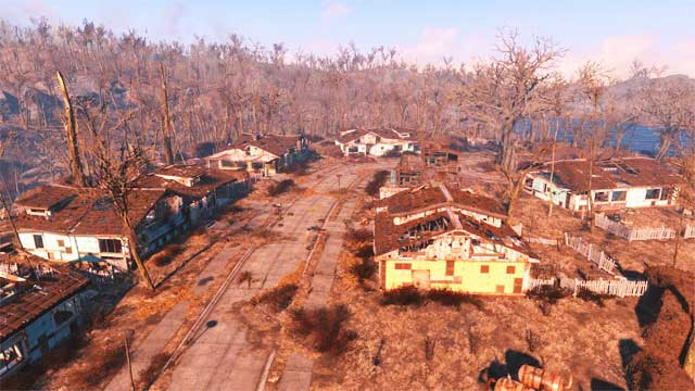 Creating settlements is a completely new gameplay feature in Fallout series - Introduction and location of settlements - Creating settlements - Fallout 4 Game Guide & Walkthrough