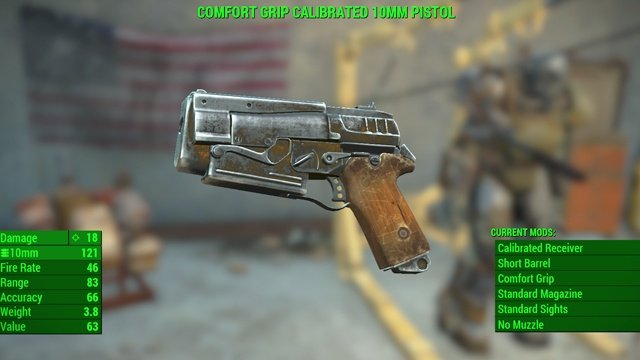 Similarly as clothes or food, you can assign the weapon which you want to have always nearby to one of 12 free slots - General Information about Weapons and Upgrades - Weapons and Upgrades - Fallout 4 Game Guide & Walkthrough