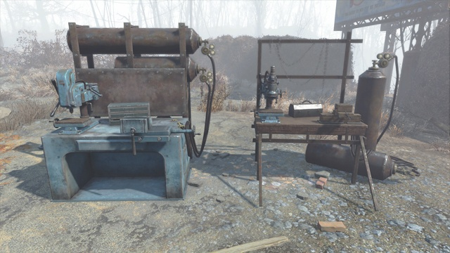 After using the workbench you will see the first screen related to upgrades - Weapon upgrading - Weapons and Upgrades - Fallout 4 Game Guide & Walkthrough