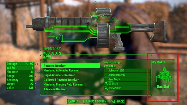 1 - Weapon upgrading - Weapons and Upgrades - Fallout 4 Game Guide & Walkthrough