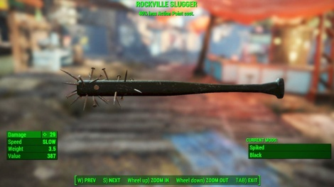 Type: Baseball bat - Melee weapons - Unique weapons - Fallout 4 Game Guide & Walkthrough