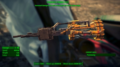 Type: Gauntlet - Melee weapons - Unique weapons - Fallout 4 Game Guide & Walkthrough