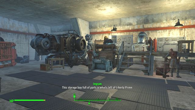 You receive the Liberty Reprimed quest from the leader of the Brotherhood of Steel - elder Maxson - after completing the From Within and Outside the Wire quest - Liberty Reprimed - Major Quests for Brotherhood of Steel faction - Fallout 4 Game Guide & Walkthrough