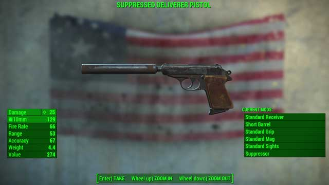 Type: 10mm pistol - Guns - light - Unique weapons - Fallout 4 Game Guide & Walkthrough