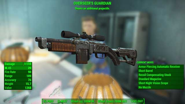 Type: Combat rifle - Guns - light - Unique weapons - Fallout 4 Game Guide & Walkthrough