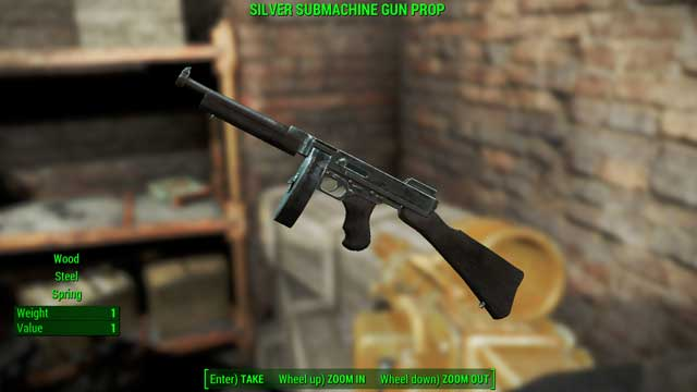 Type: Submachine gun - Guns - light - Unique weapons - Fallout 4 Game Guide & Walkthrough