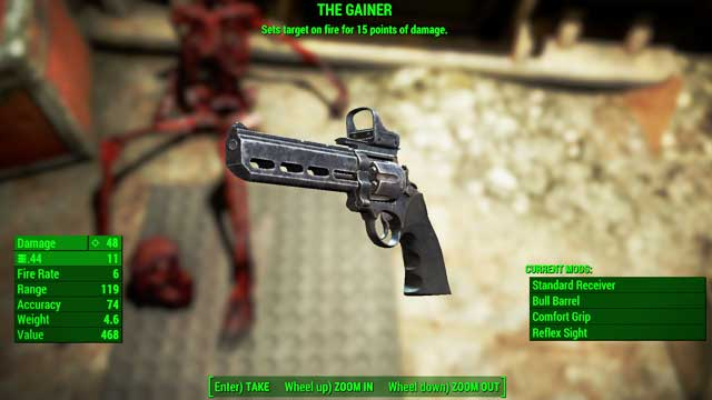 Type - Guns - light - Unique weapons - Fallout 4 Game Guide & Walkthrough