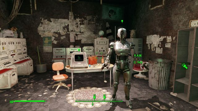 If you decide to spare the robot, you will later find it in Quinlans workshop. - Tactical Thinking - Major Quests for Brotherhood of Steel faction - Fallout 4 Game Guide & Walkthrough