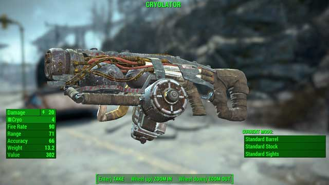 Type: Cryolator - Energy weapons - Unique weapons - Fallout 4 Game Guide & Walkthrough