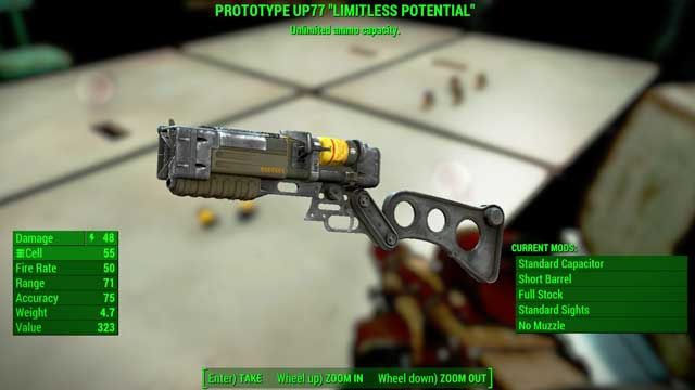Type: Laser pistol - Energy weapons - Unique weapons - Fallout 4 Game Guide & Walkthrough