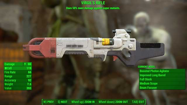 Type: Institute rifle - Energy weapons - Unique weapons - Fallout 4 Game Guide & Walkthrough