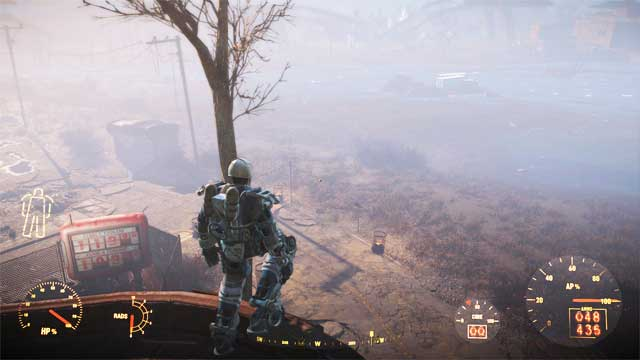 Frame completely removes falling damage. - Basic Information About Power Armor - Power Armor - Fallout 4 Game Guide & Walkthrough