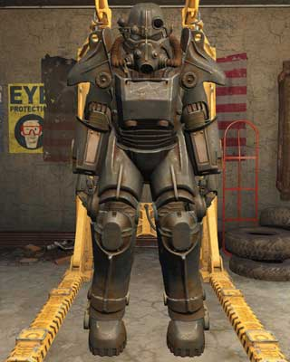 Most frequently found between first and fifteen character level - Types of Power Armor - Power Armor - Fallout 4 Game Guide & Walkthrough