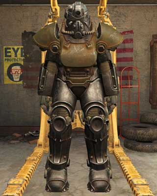 Most frequently found between levels 16 and 20 - Types of Power Armor - Power Armor - Fallout 4 Game Guide & Walkthrough