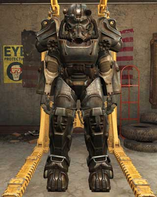 Most frequently found between levels 21 and 27 - Types of Power Armor - Power Armor - Fallout 4 Game Guide & Walkthrough