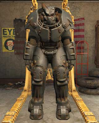 Most frequently found on levels 28 and higher - Types of Power Armor - Power Armor - Fallout 4 Game Guide & Walkthrough
