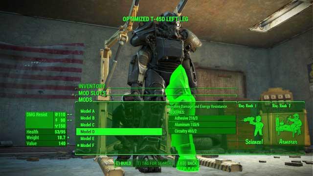 Power Armor Crafting - Fallout 4 Game Guide & Walkthrough