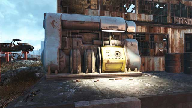 A generator in which you can find fusion core. - Fusion Cores - Power Armor - Fallout 4 Game Guide & Walkthrough