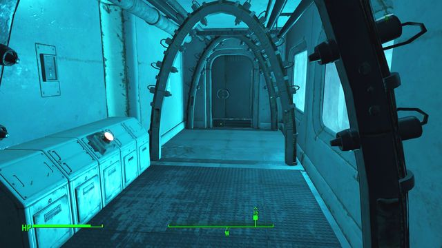 Pressing the red button will open the door leading to the reactor. It will also greatly increase the radiation level. - Spoils of War - Major Quests for Brotherhood of Steel faction - Fallout 4 Game Guide & Walkthrough