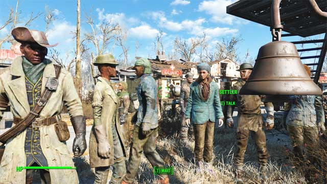 Regular gathering improves relations between humans - and makes everyone happy. - How to get the Benevolent Leader achievement? - Appendix - Fallout 4 Game Guide & Walkthrough