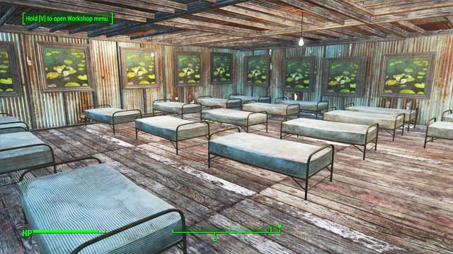 Luckily, the settlers do not care about aesthetics - as long as the roof isnt leaking, they are fine. - How to get the Benevolent Leader achievement? - Appendix - Fallout 4 Game Guide & Walkthrough