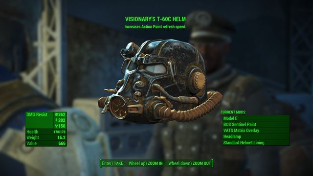 Quest rewards: Experience points, power armor helmet - A Loose End - Minor quests for Brotherhood of Steel faction - Fallout 4 Game Guide & Walkthrough