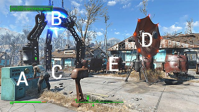 Once you connect the generators to each other, you must attach the cables to the console, to the dish and to the beam emitter - The Molecular Level - constructing the signal interceptor (teleporter) - Main story - Fallout 4 Game Guide & Walkthrough