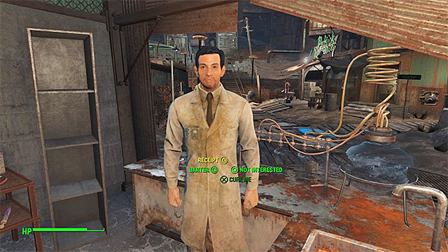 the disappearing act - nick valentine