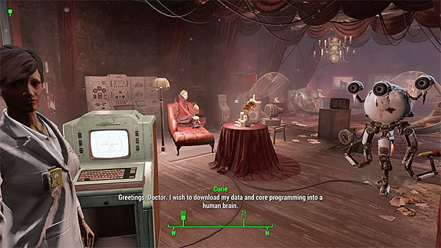 Ask doctor Amari for help - Emergent Behavior - Curie - Minor quests for Institute faction - Fallout 4 Game Guide & Walkthrough