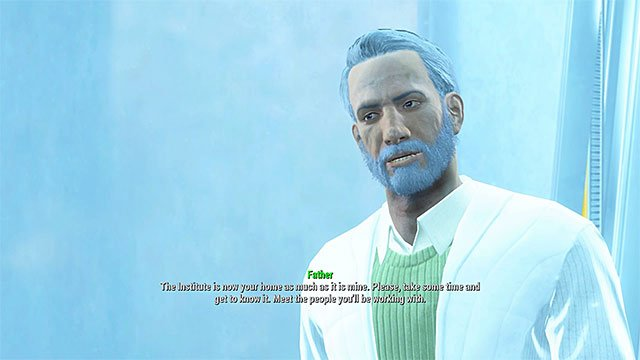 You can start cooperating with the Institute - Institutionalized - Main story - Fallout 4 Game Guide & Walkthrough