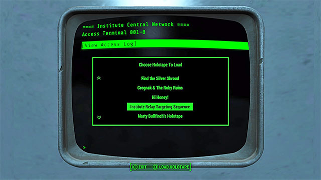 Load the holotape - The Nuclear Option (the Minutemen ending) - Major quests for Minutemen faction - Fallout 4 Game Guide & Walkthrough