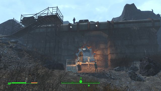 A large shelter that is currently controlled by marksmen - Vault 95 - The Glowing Sea - Sector 8 - Fallout 4 Game Guide & Walkthrough