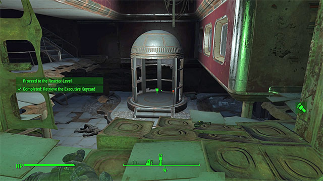 The elevator that you need to use - Mass Fusion - Major quests for Institute faction - Fallout 4 Game Guide & Walkthrough
