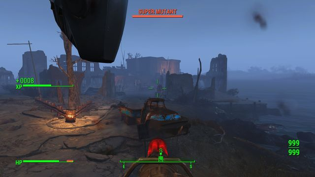 As soon as you gun the Behemoth down, the vertibird lands - Show No Mercy - Major Quests for Brotherhood of Steel faction - Fallout 4 Game Guide & Walkthrough