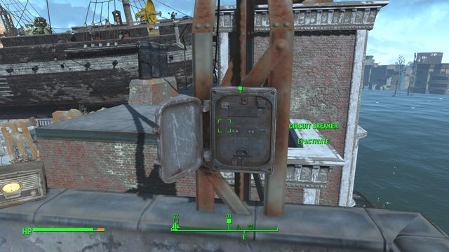 After you talk to her, climb to the buildings rooftop - Last Voyage of the USS Constitution (USS Constitution) - Side quests in other locations - Fallout 4 Game Guide & Walkthrough