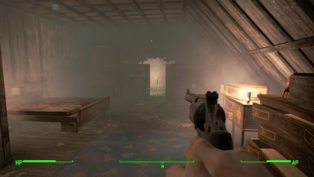 The hole on the highest floor that will allow you to reach the basement - Pickmans Gift (Pickman Gallery) - Side quests in other locations - Fallout 4 Game Guide & Walkthrough