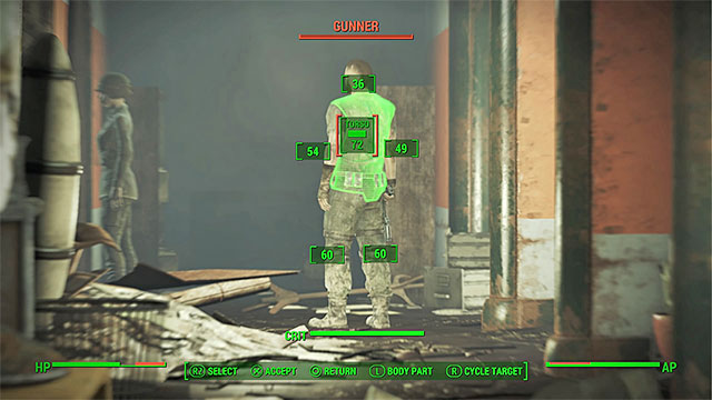 Eliminate the opponents you meet and destroy the defense systems of the building - Hunter Hunted - Main story - Fallout 4 Game Guide & Walkthrough