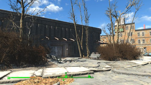 This is a dilapidated building where lab used to be - Cambridge Polymer Labs - Cambridge - Sector 5 - Fallout 4 Game Guide & Walkthrough