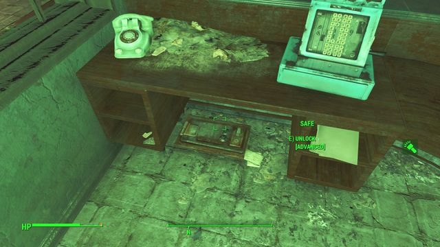 Some of the safes are well-hidden and difficult to spot. - Kendall Hospital - Cambridge - Sector 5 - Fallout 4 Game Guide & Walkthrough
