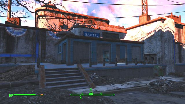 Building in the North-Eastern part of the sector - BADTFL Regional Office - Cambridge - Sector 5 - Fallout 4 Game Guide & Walkthrough