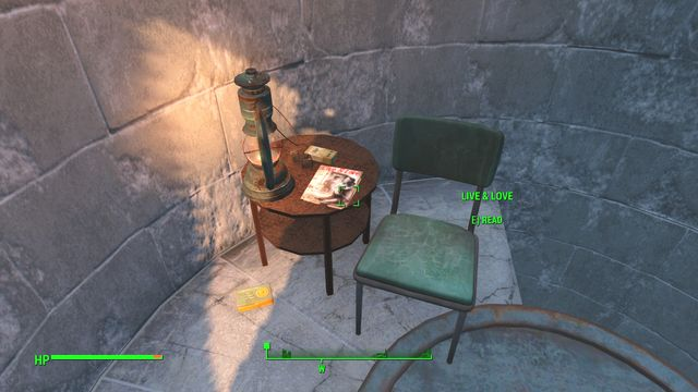 Atop the monument (you can climb the stairs there), you find an issue of Live&Love - Bunker Hill - Cambridge - Sector 5 - Fallout 4 Game Guide & Walkthrough