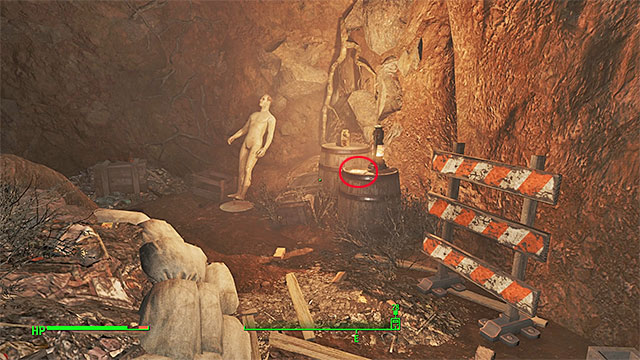 Enter the caves near the pond, the easiest way to do so is by finding an entrance to the sewers by the water - Magazines in Sanctuary - Sector 1 - Magazines - Fallout 4 Game Guide & Walkthrough