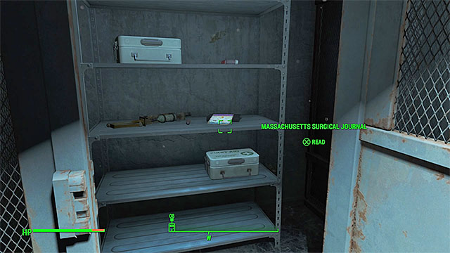 Ignore the friendly robot after entering the building and find the door that is near the entrance and requires you to unlock a simple lock - Magazines in Salem - Sector 3 - Magazines - Fallout 4 Game Guide & Walkthrough