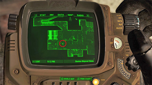 In order to get to the secret, you must walk into the mayoral shelter and then walk through the whole complex, eliminating many synths and guard towers on the way - Magazines in Fort Hagen - Sector 4 - Magazines - Fallout 4 Game Guide & Walkthrough