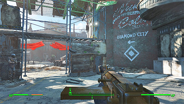 Follow the directions - Jewel of the Commonwealth - Main story - Fallout 4 Game Guide & Walkthrough