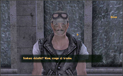 Dixon wanders near the Mick and Ralphs (M6B:2) - High Times - Side quests - Fallout: New Vegas - Game Guide and Walkthrough