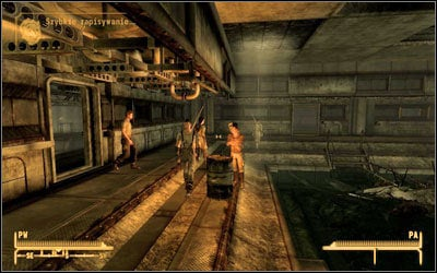 In your second mission you have to go to the [North sewers] (M49:3) - Someone To Watch Over Me - Side quests - Fallout: New Vegas - Game Guide and Walkthrough