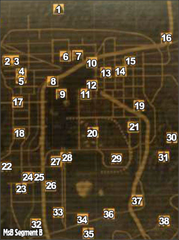 New Vegas World Map.Segment B World Map Fallout New Vegas Game Guide Gamepressure Com